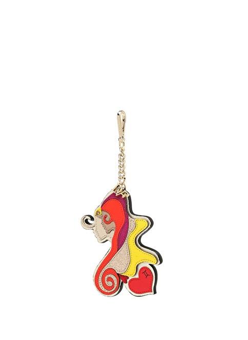 Diane Von Furstenberg Anahtarlık Renkli